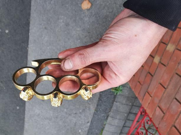 mens knuckle duster