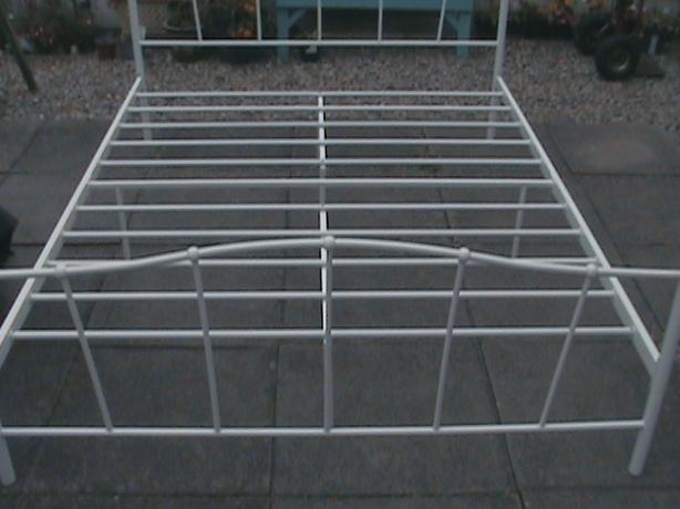 Free to collector metal bed frame