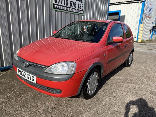 2002 Vauxhall Corsa 1.2 Comfort *10 MONTHS MOT*