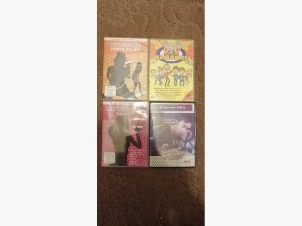 karaoke DVD'S X 4 - Delivery - £10 -