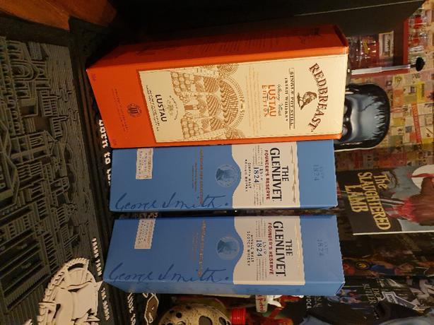FREE: whiskey boxes