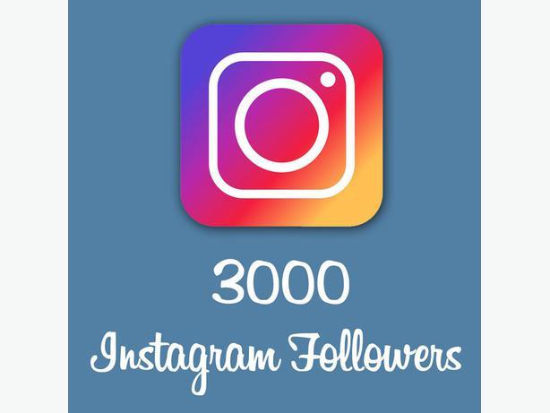 Buy 3000 Instagram Followers Online
