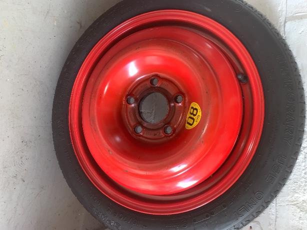 vauxhall meriva space saver wheel