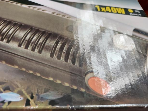 Halogen glow T8 1x 40W light unit brand new