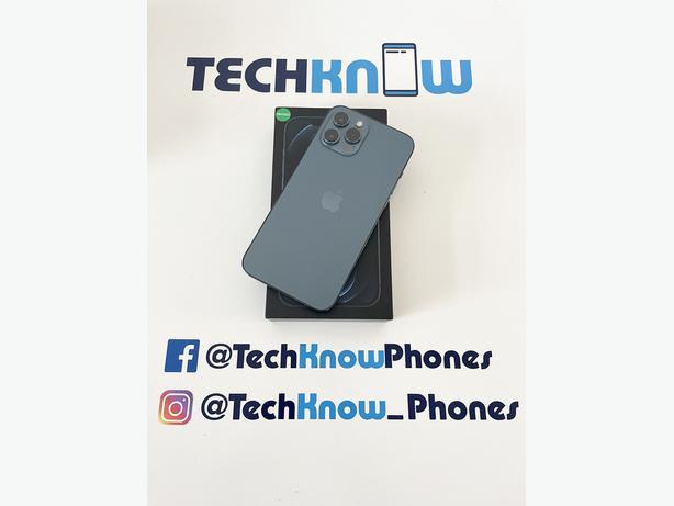 Apple iPhone 12 Pro Max 256GB unlocked Blue £799.99