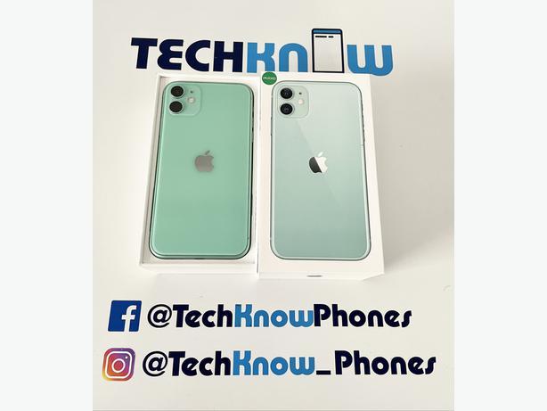 Apple iPhone 11 64GB unlocked (Green) Boxed £329.99