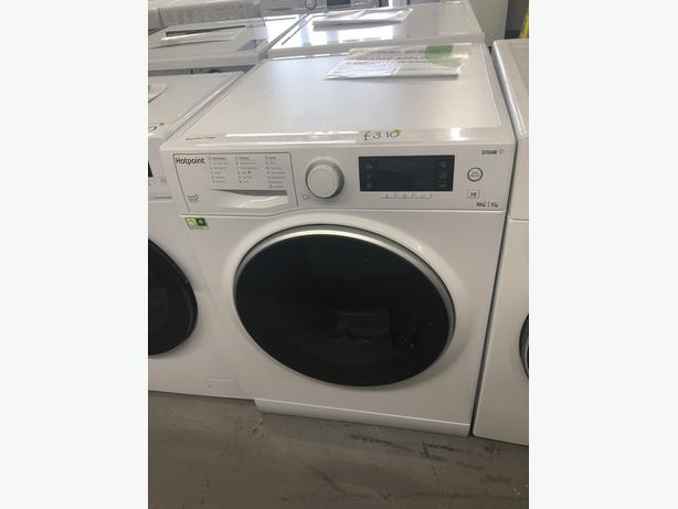 HOTPOINT 10/7KG WASHER DRYER WITH 6 MONTHS GUARANTEE