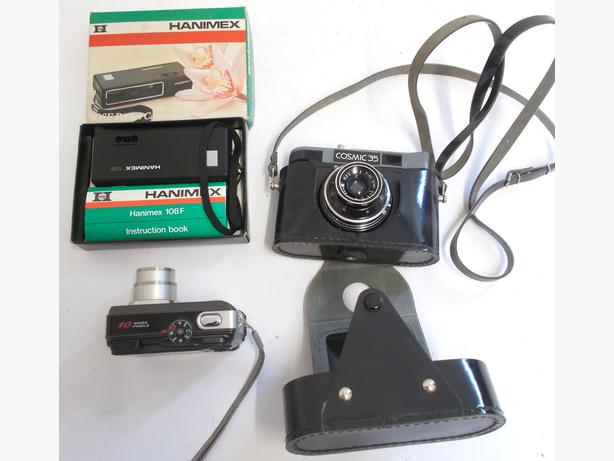 Joblot of Three Cameras Spares & Repair