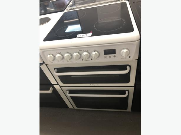 🟩🟩PLANET🌎APPLIANCE🟩🟩 HOTPOINT 60CM ELECTRIC COOKER/OVEN WITH GUARANTEE