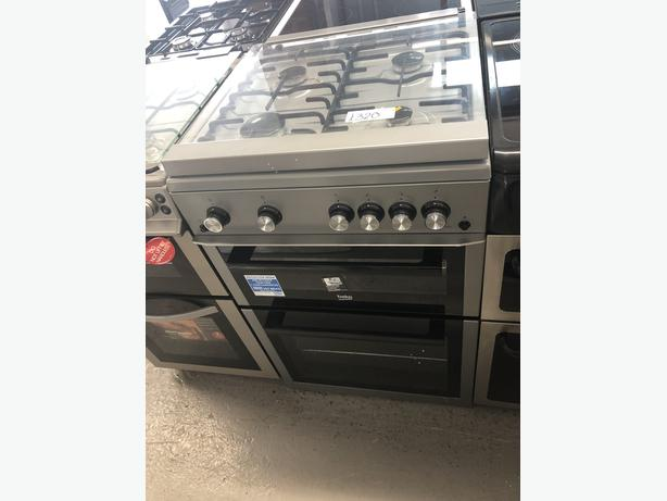 🟩🟩PLANET🌎APPLIANCE🟩🟩 BEKO 60CM GAS COOKER/OVEN WITH GUARANTEE