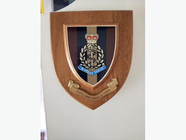 Royal Army Medical Corps Plaque