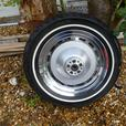 """HARLEY DAVIDSON 16"""" SOLID  REAR WHEEL AND TYRE"""