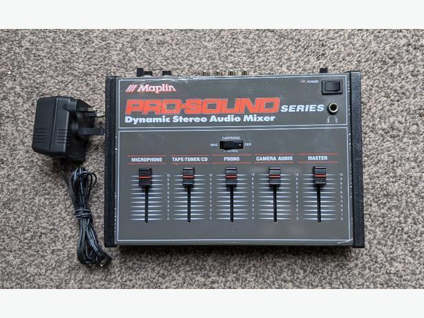 maplin m7000vx prosound audio mixer