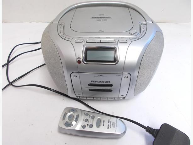 Ferguson FRG330 CD Cassette Recorder & Radio with Remote