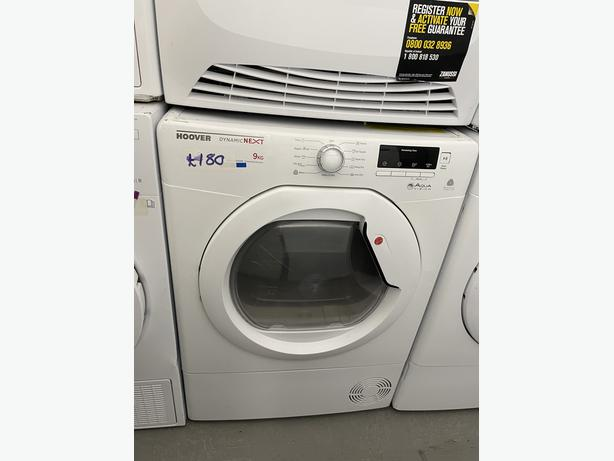 🟩🟩PLANET🌎APPLIANCE🟩🟩 HOOVER 9KG CONDENSER DRYER WITH GUARANTEE