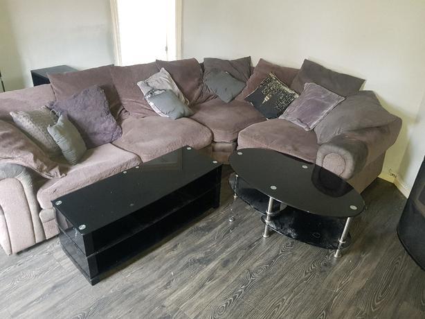 corner sofa,tv stand,coffee table