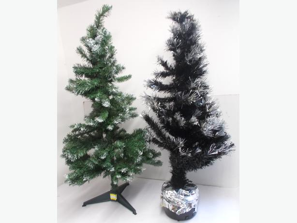 2 Artificial 4ft Christmas Trees