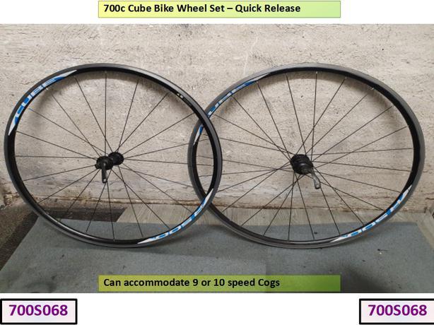 700c Cube Bike Wheel Set.