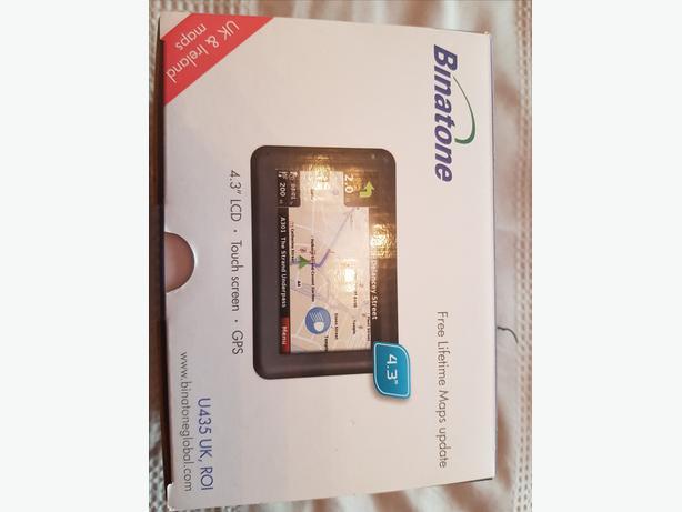 Hardly Used Binatone Touch Screen Sat Nav