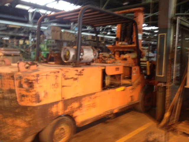 40 000lb Cat Towmotor Royal Forklift For Sale 616 200 4308