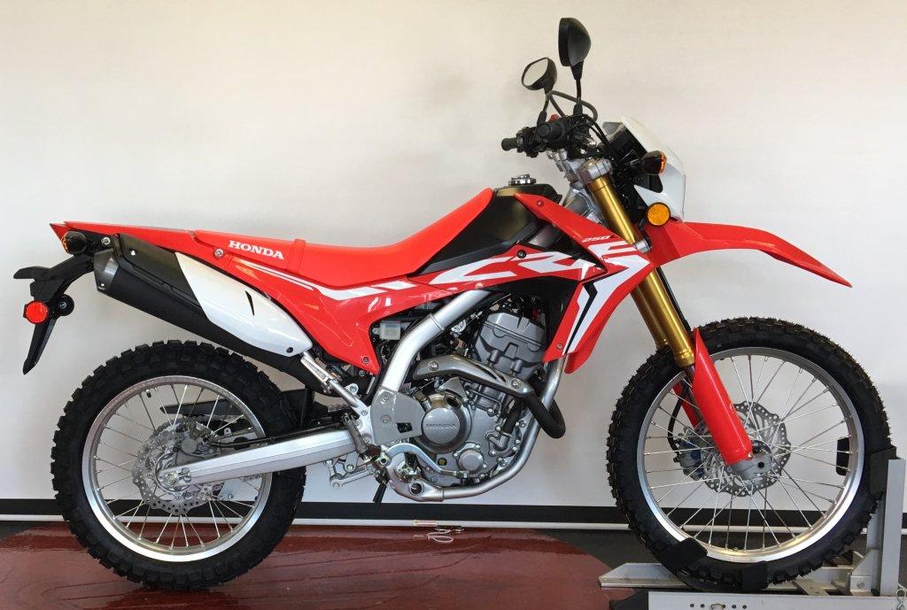 2019 Crf250l Dual Sport Red