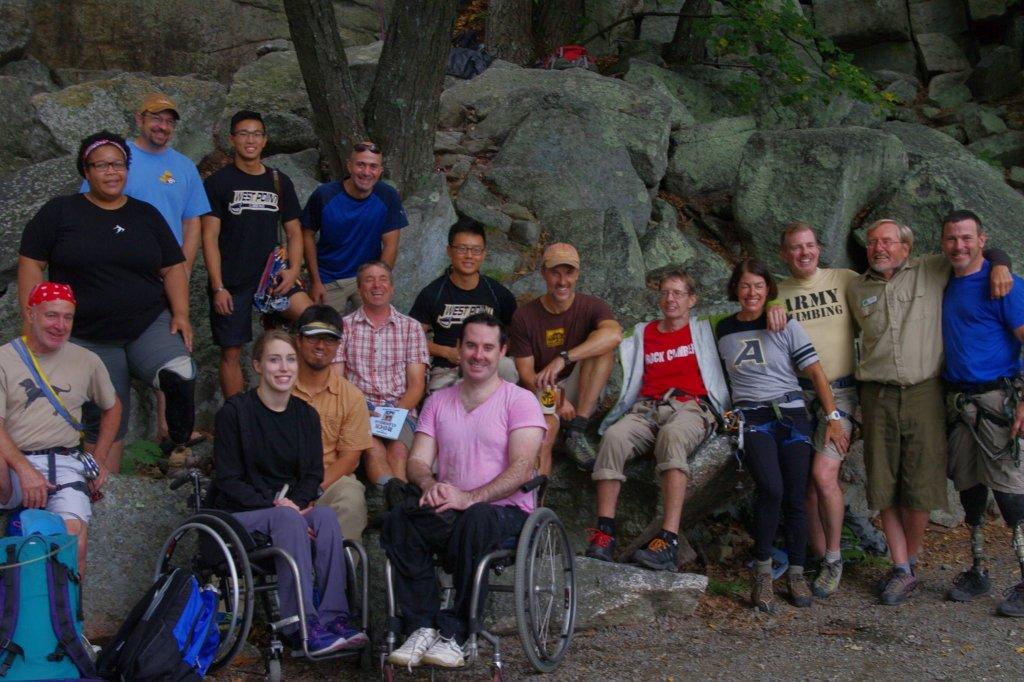 Camp & Climb 2015 Group Photo