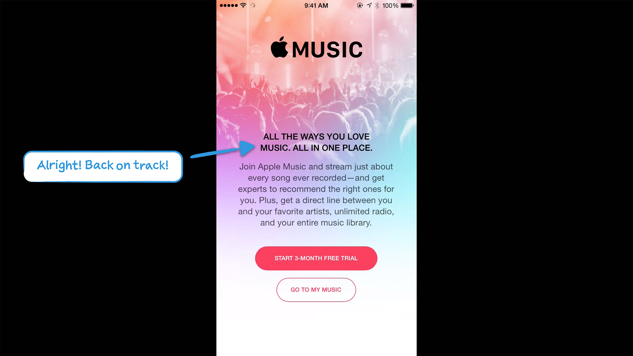 How Apple Music Onboards New Users | User Onboarding