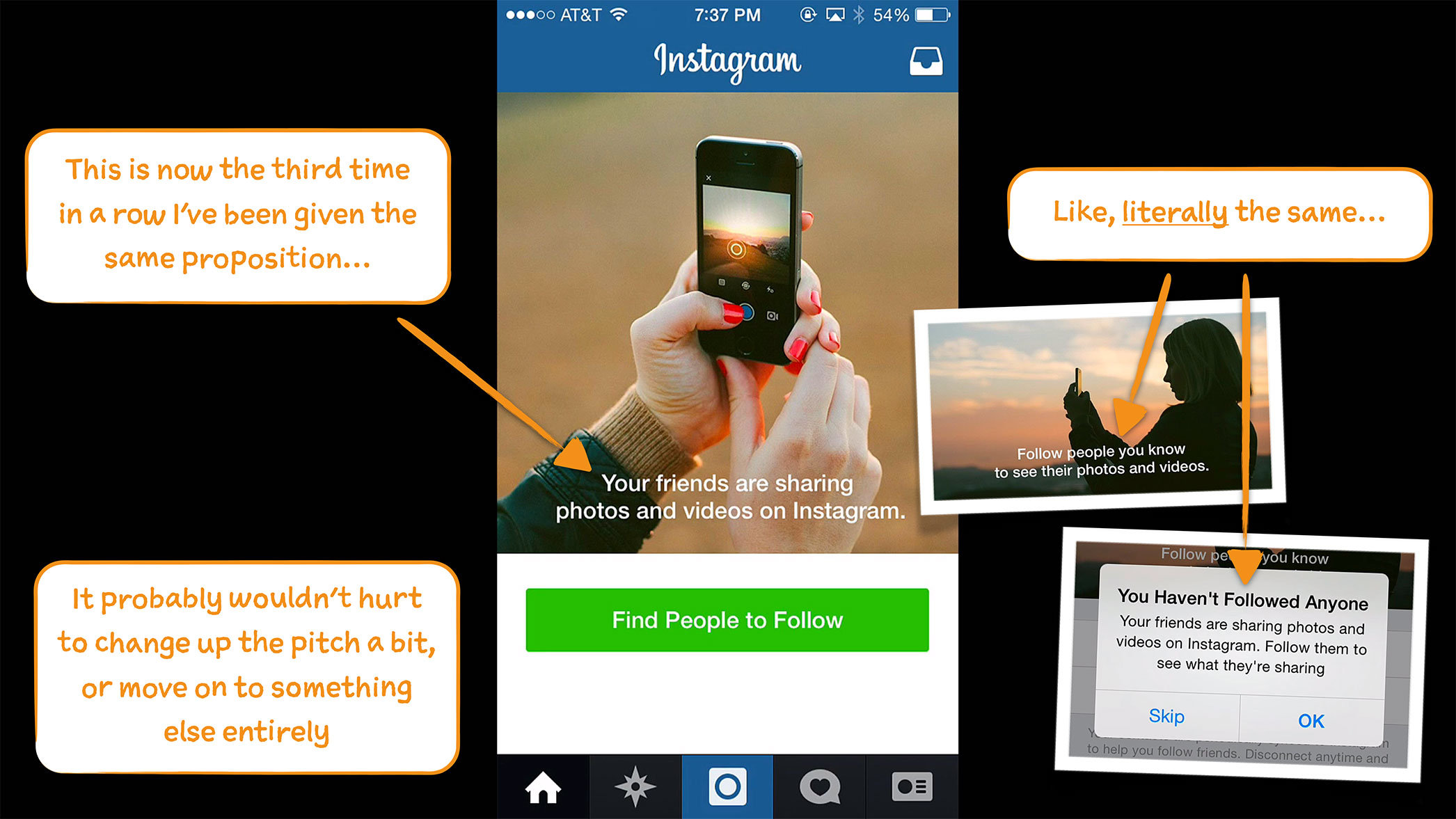how to clean out who you follow on instagram