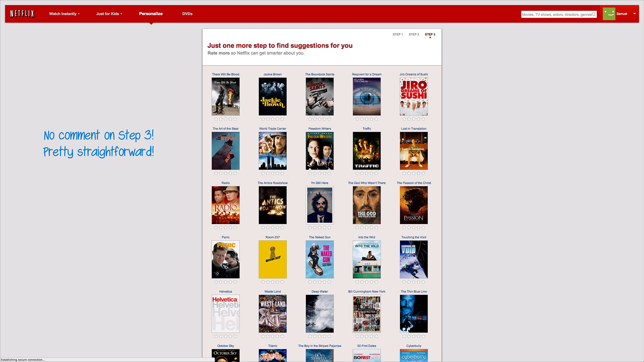 how netflix onboards new users user onboarding