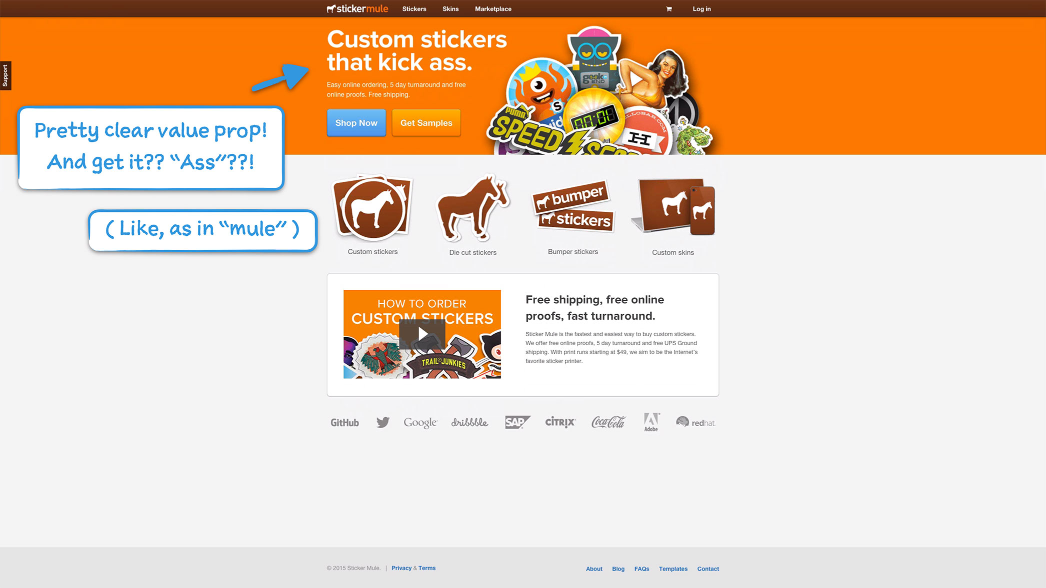 Bumper sticker maker free online - How Sticker Mule Onboards New Users