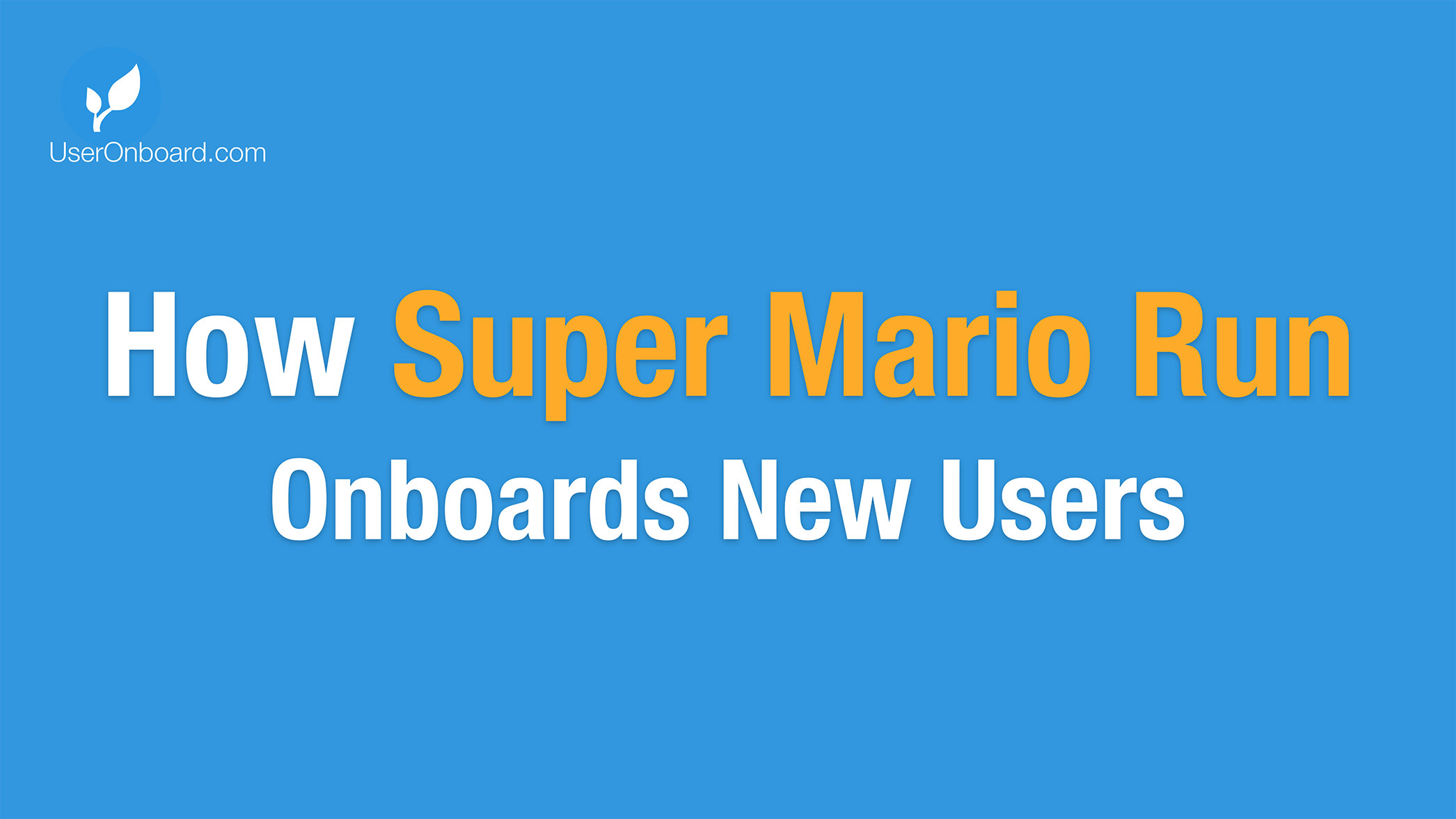 How Super Mario Run Onboards New Users   User Onboarding