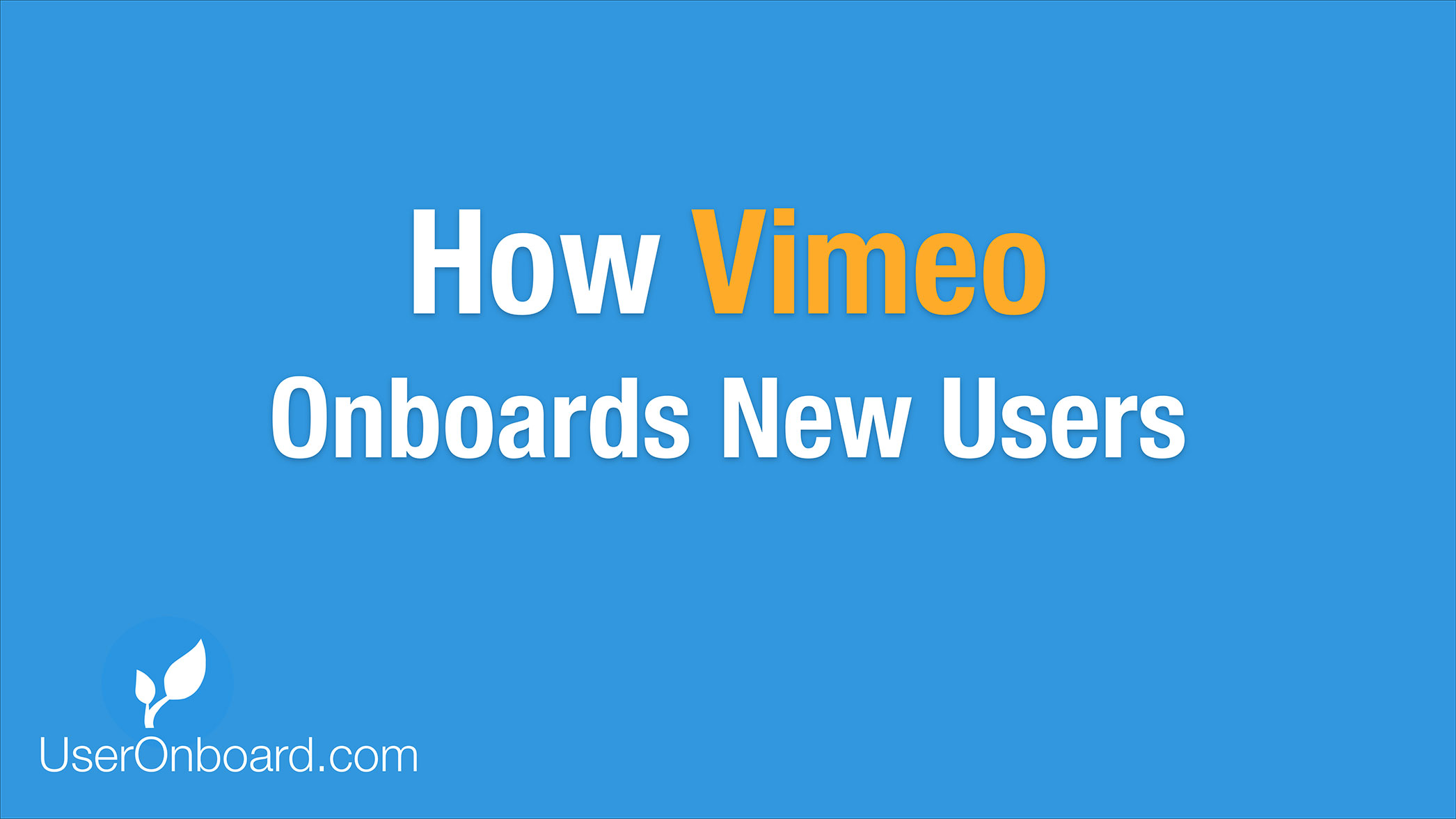 How vimeo onboards new users user onboarding how vimeo onboards new users stopboris Image collections
