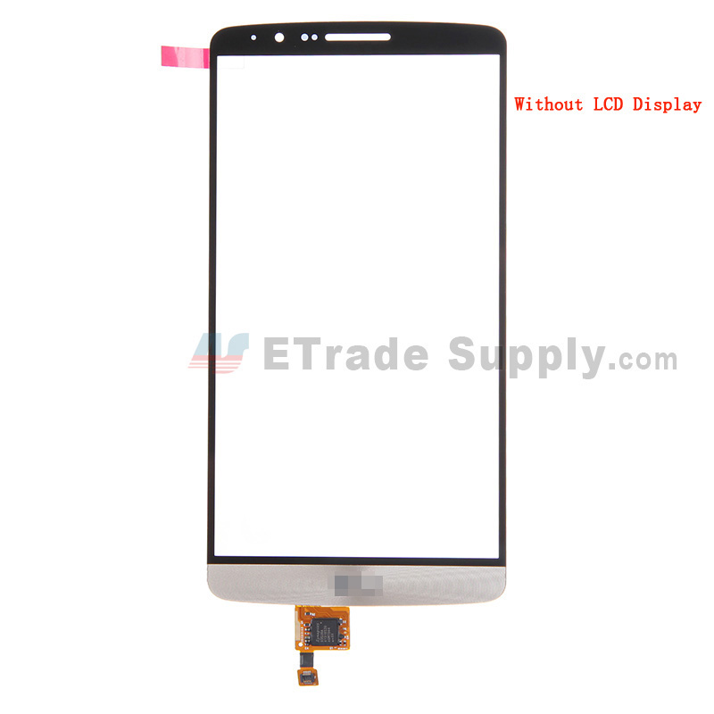 For LG G3 D850 Digitizer Touch Screen Replacement - Gold - With Logo - Grade S+
