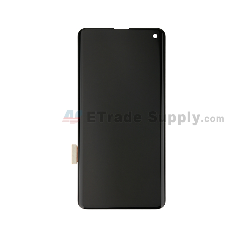 For Samsung Galaxy S10 Series LCD Screen and Digitizer Assembly Replacement - Black - Without Logo - Grade S