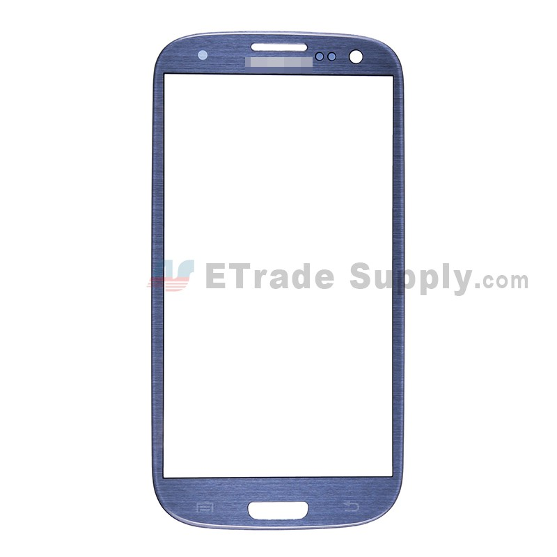For Samsung Galaxy S III (S3) GT-I9300/I9305/T999/I747/R530/I535/L710 Glass Lens Replacement - Sapphire - Grade S+
