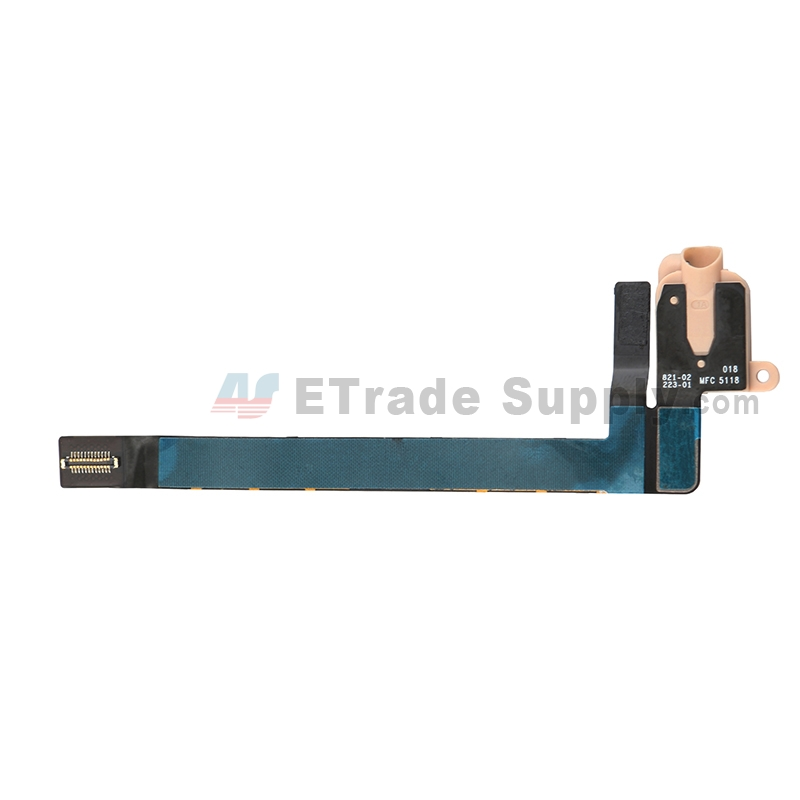For Apple iPad Air 3 Earphone Jack Flex Cable Ribbon Replacement (Wifi Version) - Gold - Grade S+