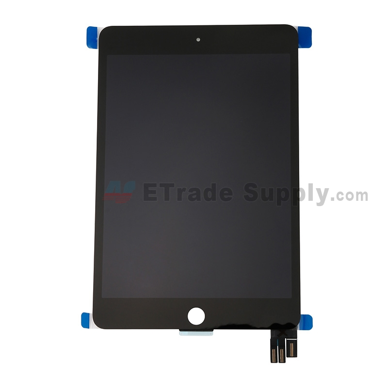 For Apple iPad Mini 5 LCD Screen and Digitizer Assembly Replacement - Black - Grade S+