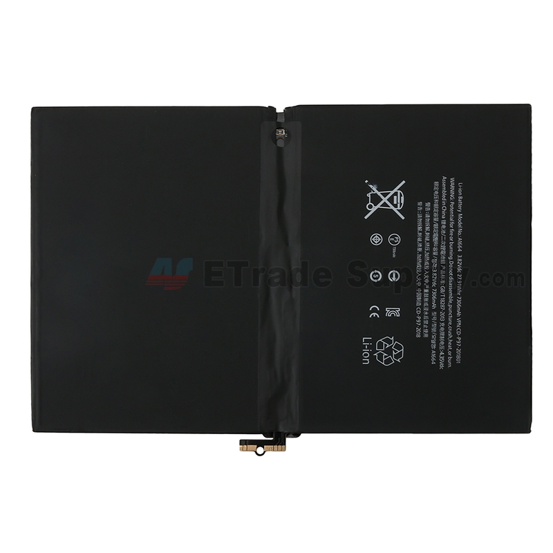 For Apple iPad Pro 9.7 2016 Battery Replacement - Grade S+