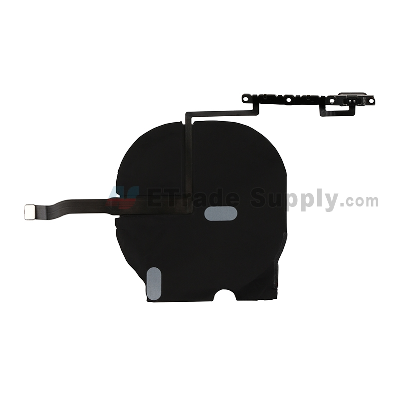 For Apple iPhone 11 Pro Wireless Charger with Volume Button Flex Cable Ribbon Assembly Replacement - Grade S+