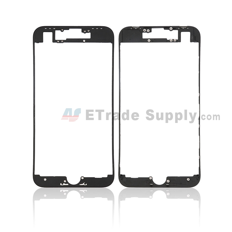 For Apple iPhone 8 Digitizer Frame Replacement - Black - Grade S+