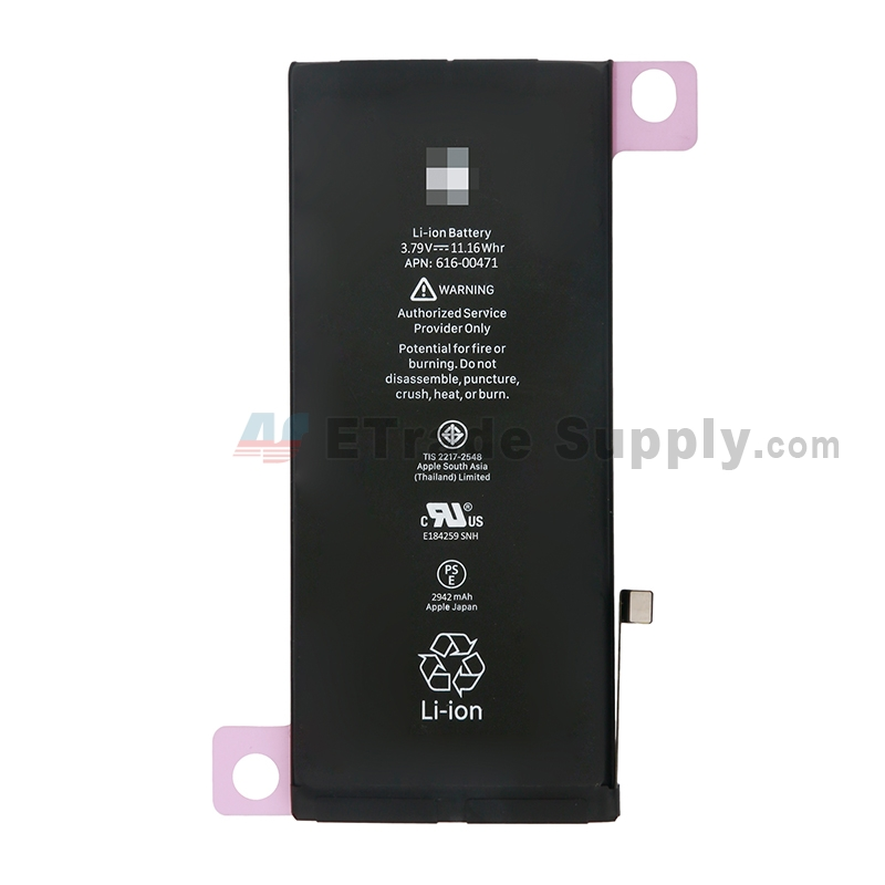 For Apple iPhone XR Battery Replacement - Grade S+