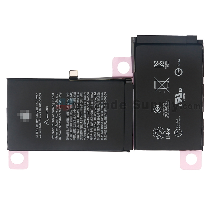 For Apple iPhone XS Max Battery Replacement - Grade S+