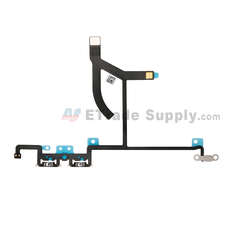 For Apple iPhone XS Max Volume Button Flex Cable Ribbon Replacement - Grade S+