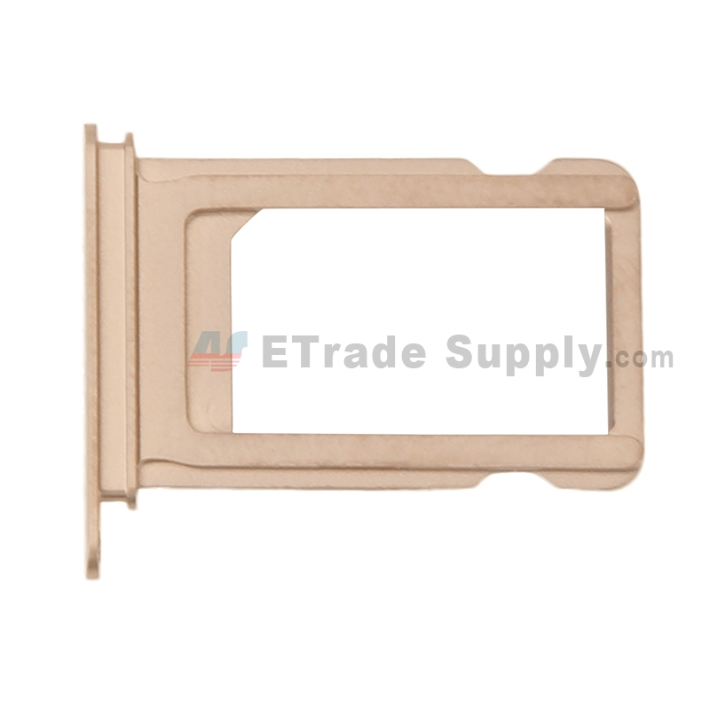 For Apple iPhone XS SIM Card Tray Replacement - Gold - Grade S+