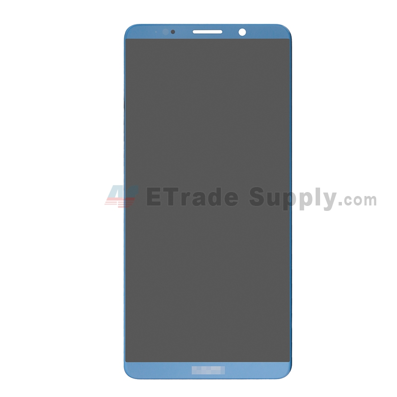 For Huawei Mate 10 Pro LCD Screen and Digitizer Assembly Replacement - Blue - With Logo - Grade S+
