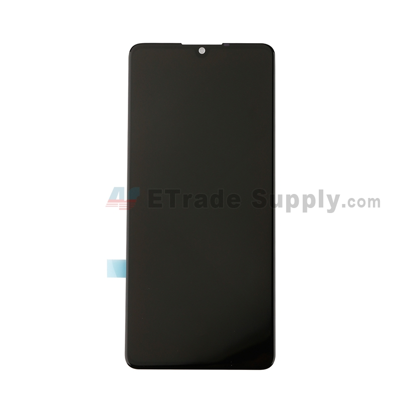 For Huawei P30 LCD Screen and Digitizer Assembly Replacement - Black - Without Logo - Grade S+
