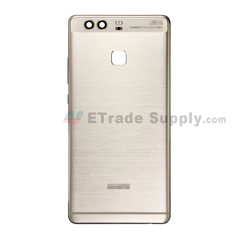 For Huawei P9 Rear Housing Replacement (without Fingerprint Sensor Flex) - Gold - With Logo - Grade S+