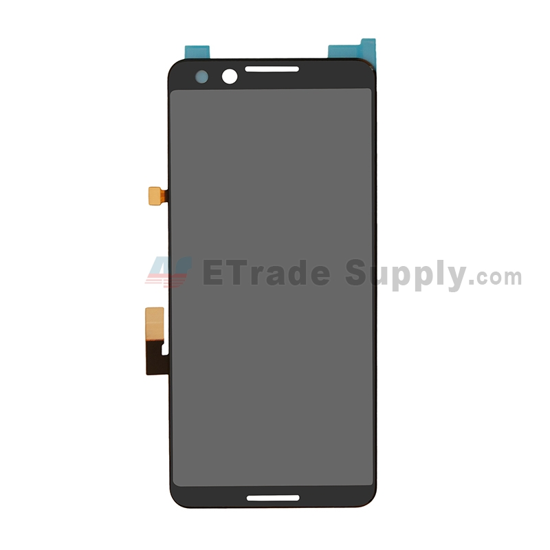 For LG Google Pixel 3 LCD Screen and Digitizer Assembly Replacement - Black - Grade S+