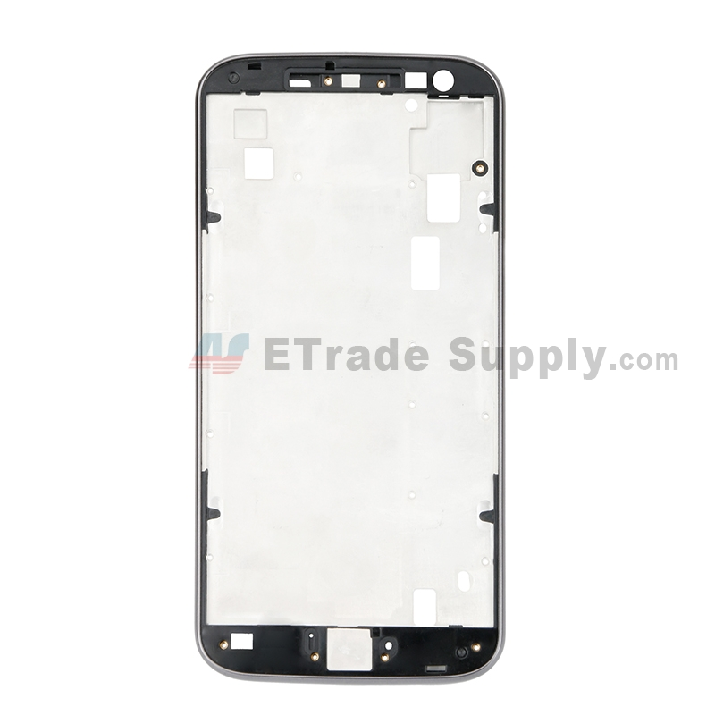 For Motorola Moto G4 Front Housing Replacement - Gray - Grade S+
