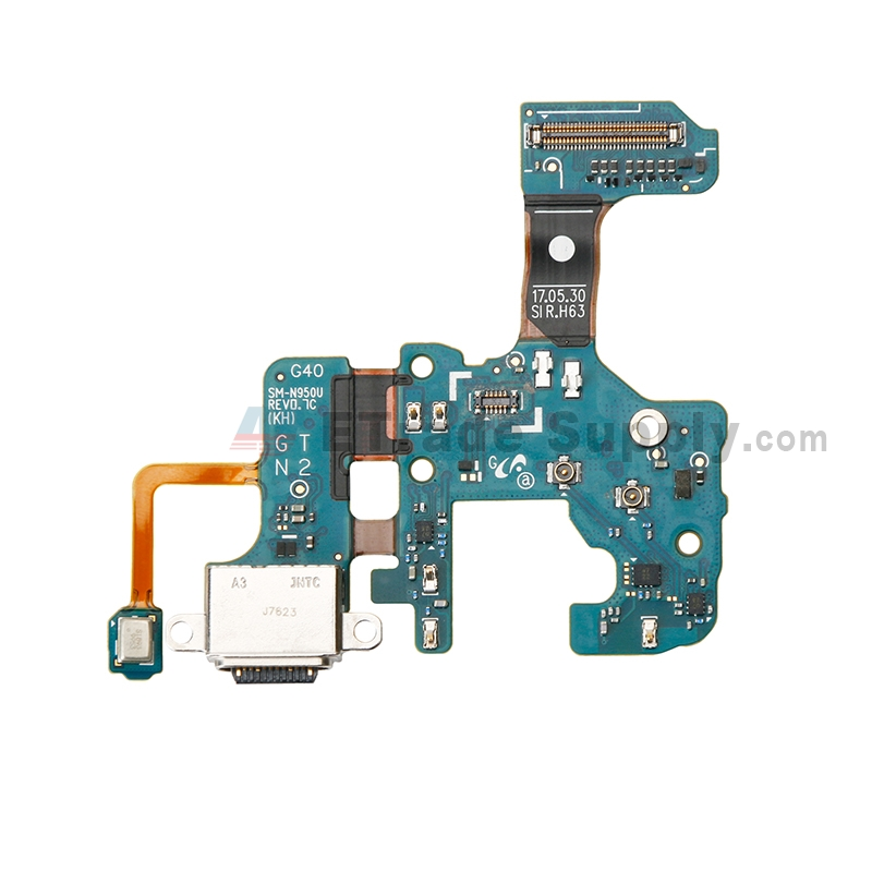 For Samsung Galaxy Note 8 N950U Charging Port Flex Cable Replacement - Grade S+